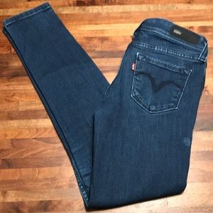Levi's Demi Curve Low Rise Skinny Jeans